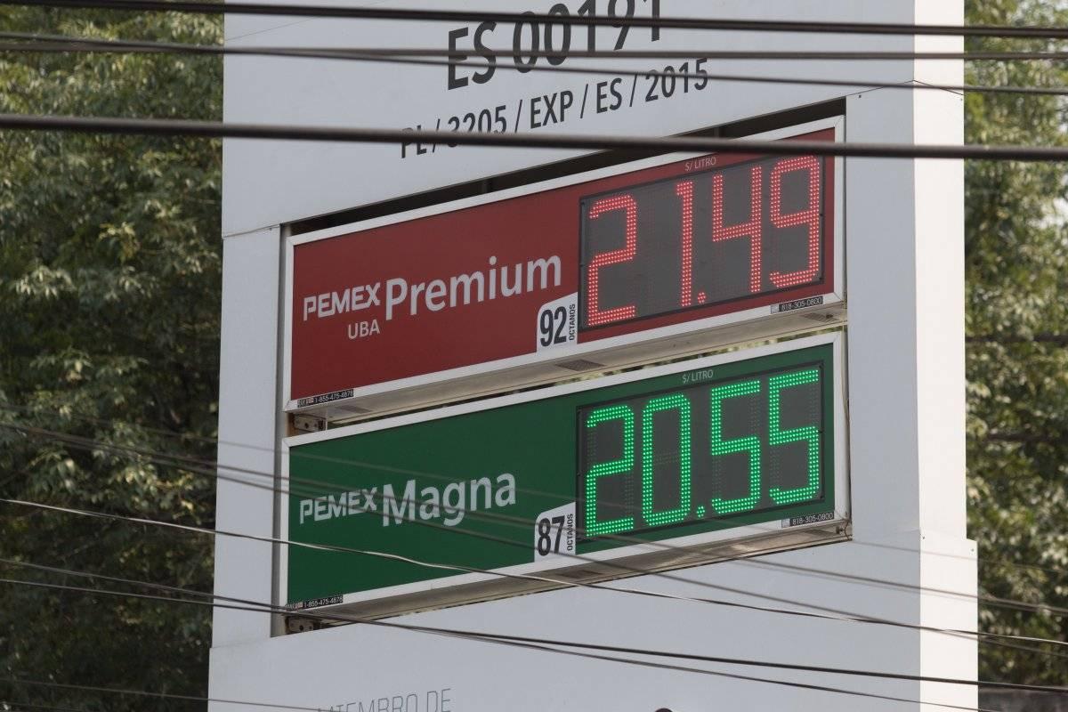 Precio de gasolina va en aumento. Foto: Cuartoscuro