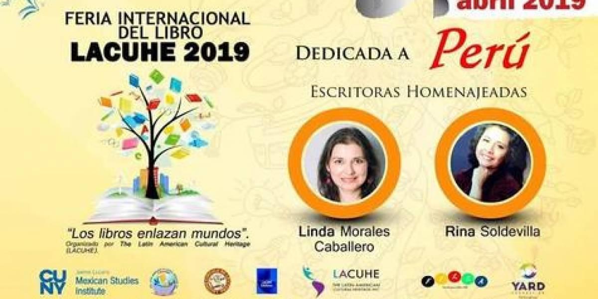 Realizarán III Feria Internacional del Libro LACUHE en Nueva York