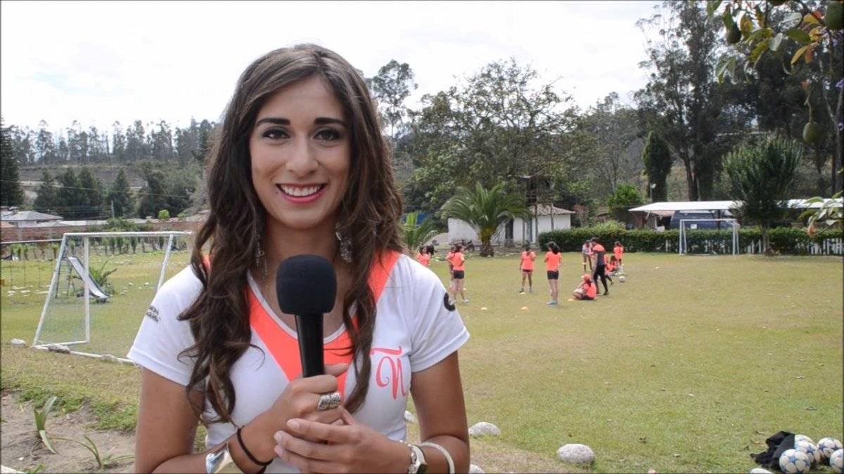Fernanda Vásconez, futbolista y propietaria del club Ñañas
