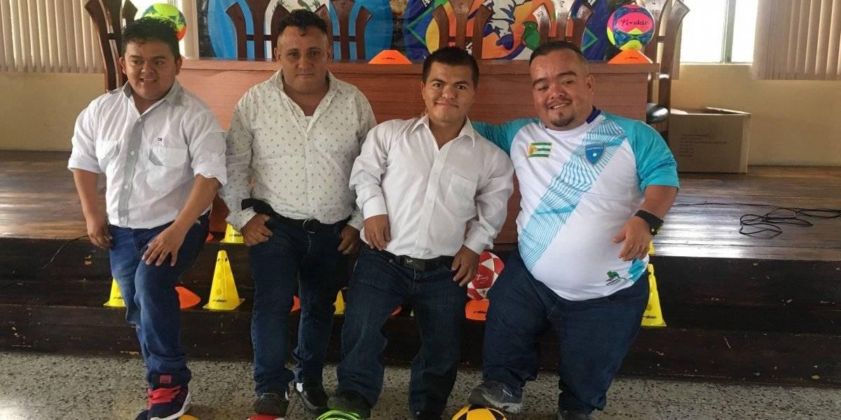 Futbolistas de Talla Baja de Guatemala gozan de cupo para la Copa América