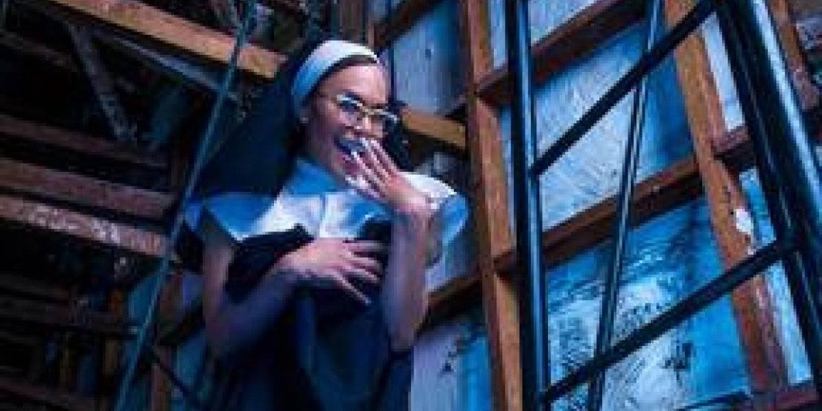 """Georgina Duluc hace el papel de una monja en """"El ingrediente secreto"""""""