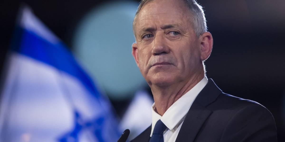 Benny Gantz lidera elecciones en Israel, según sondeos a pie de urna