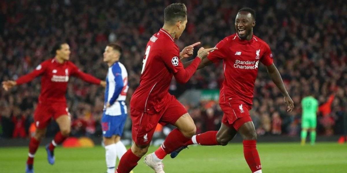 Liverpool dio el primer paso a las semifinales de la Champions League tras vencer al Porto