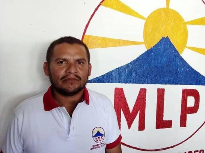 Hermil Leonel Nájera Trigueros fue asesinado cuando hacía campaña política a favor del MLP, de Codeca. Foto: MLP