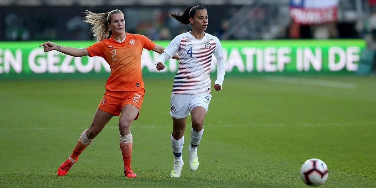 La Roja femenina sufrió una aplastante goleada ante el poderío de Holanda en amistoso
