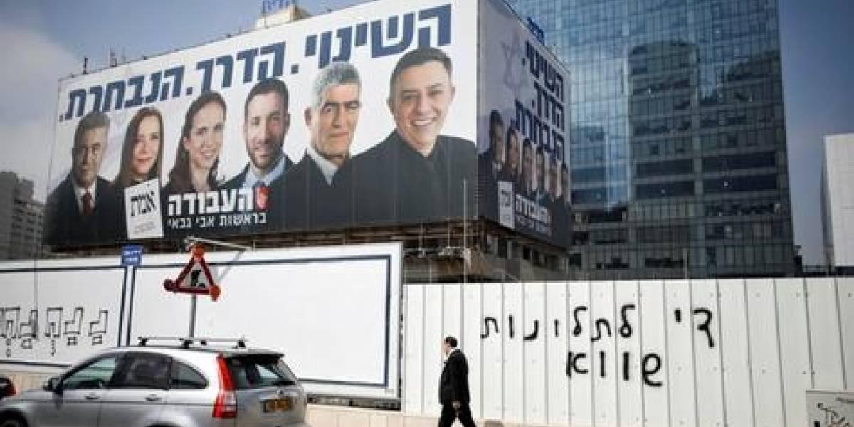 Encuestas de salida de Israel muestran contienda reñida