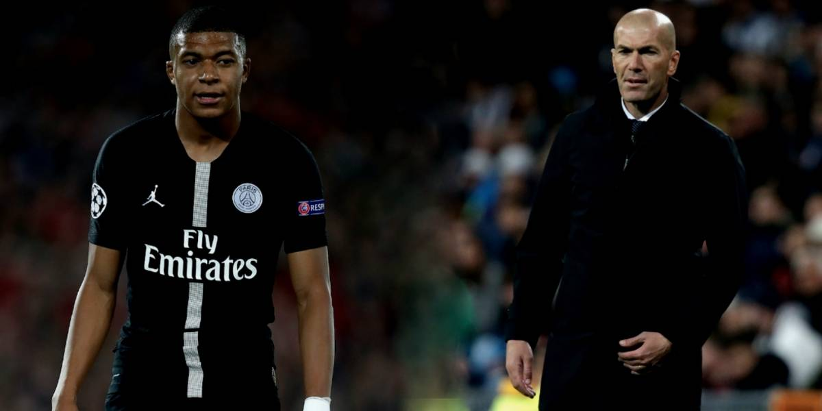 El guiño de Mbappé a Zidane: 'me impresiona como Pelé'