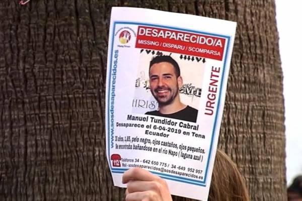 Hallan cuerpo de español, Manuel Tundidor, que desapareció en el río Jatunyacu