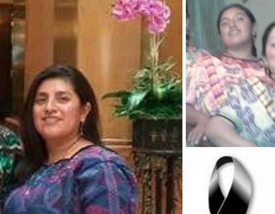 María Chojolan, asesinada en Quetzaltenango