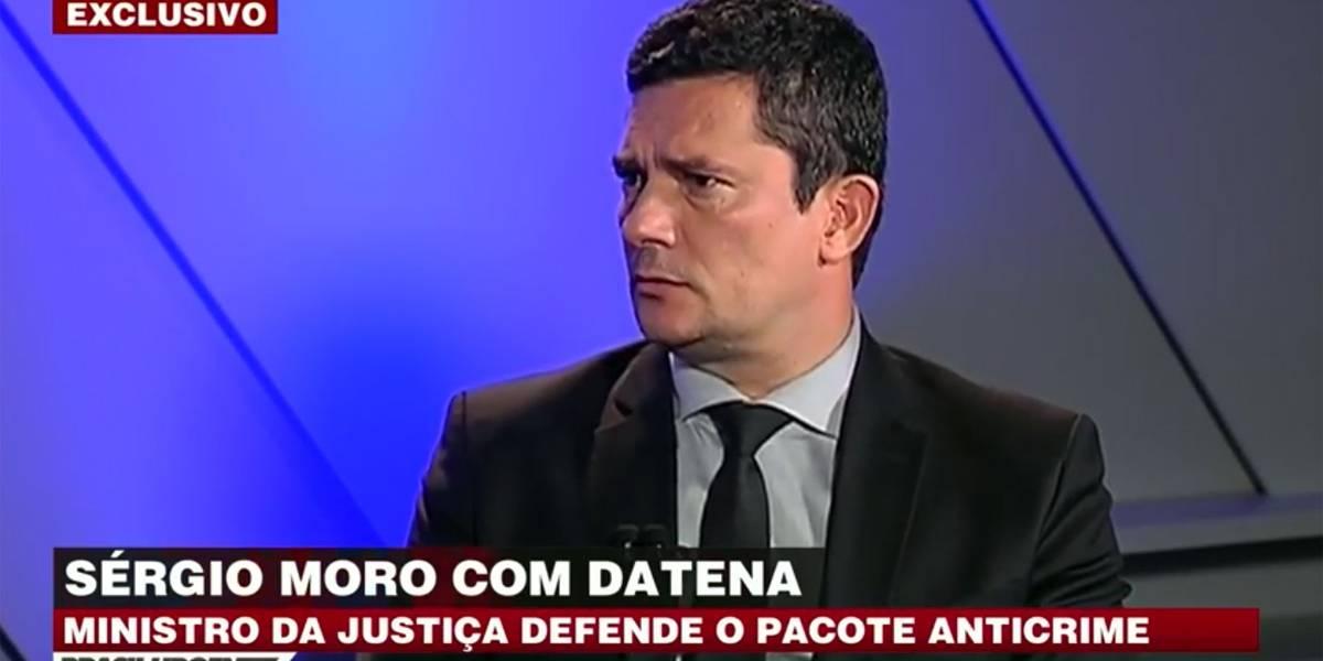 Exclusivo: Datena entrevista o ministro Sérgio Moro