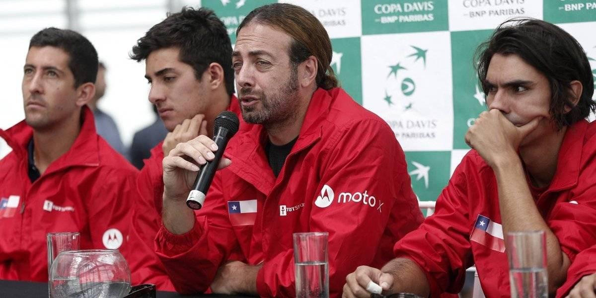 Chile tiene horarios confirmados para disputar las finales de la Copa Davis
