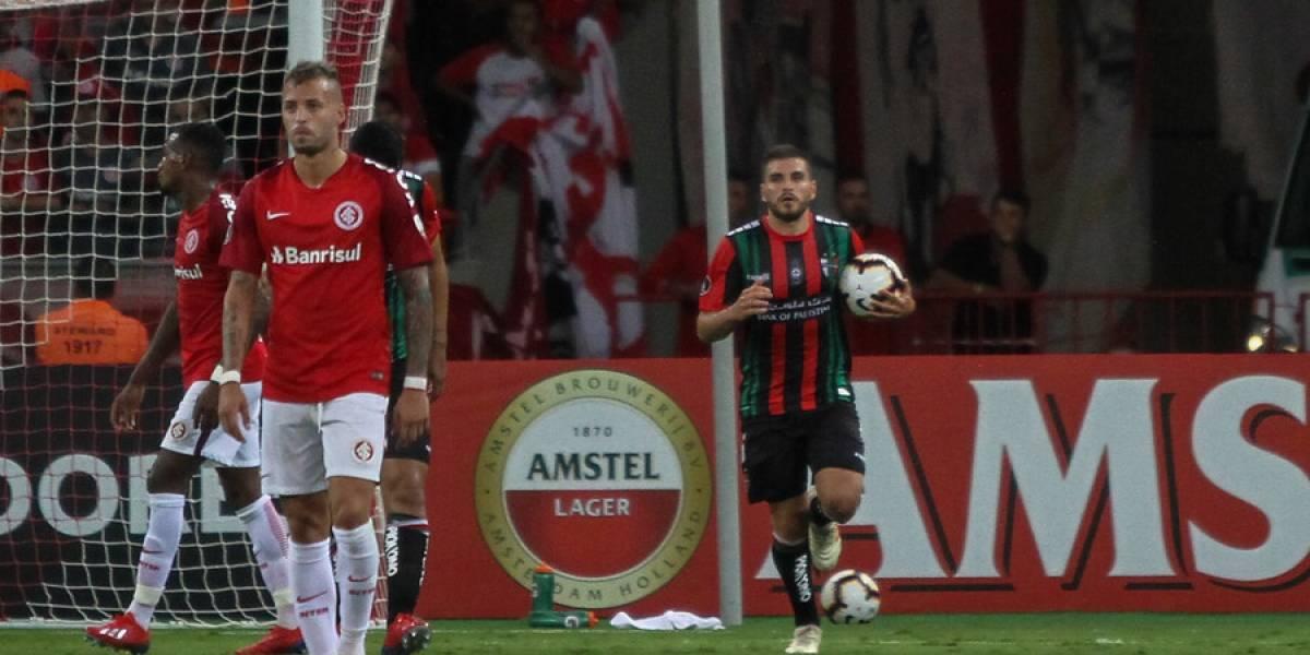 Así vivimos la derrota de Palestino en Brasil ante Internacional por la Libertadores