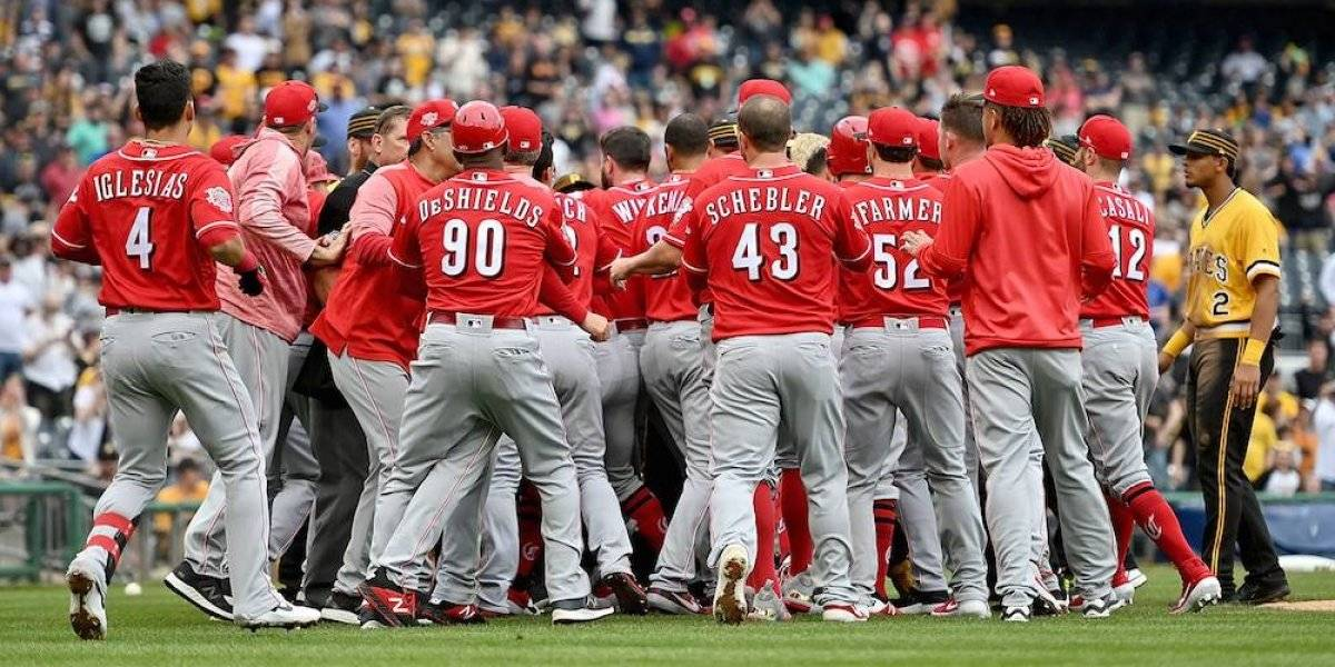 MLB aplica castigos a Archer y Puig, protagonistas de trifulca en el Reds vs Pirates