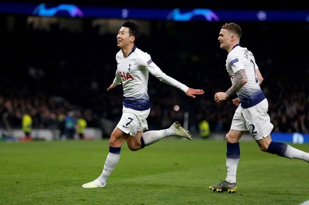 Gol de Heung-Min Son contra el Manchester City