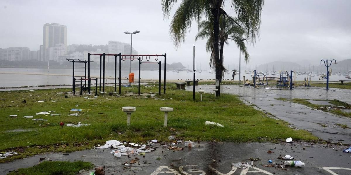 Sobe para 10 o número de mortos por causa das chuvas no Rio