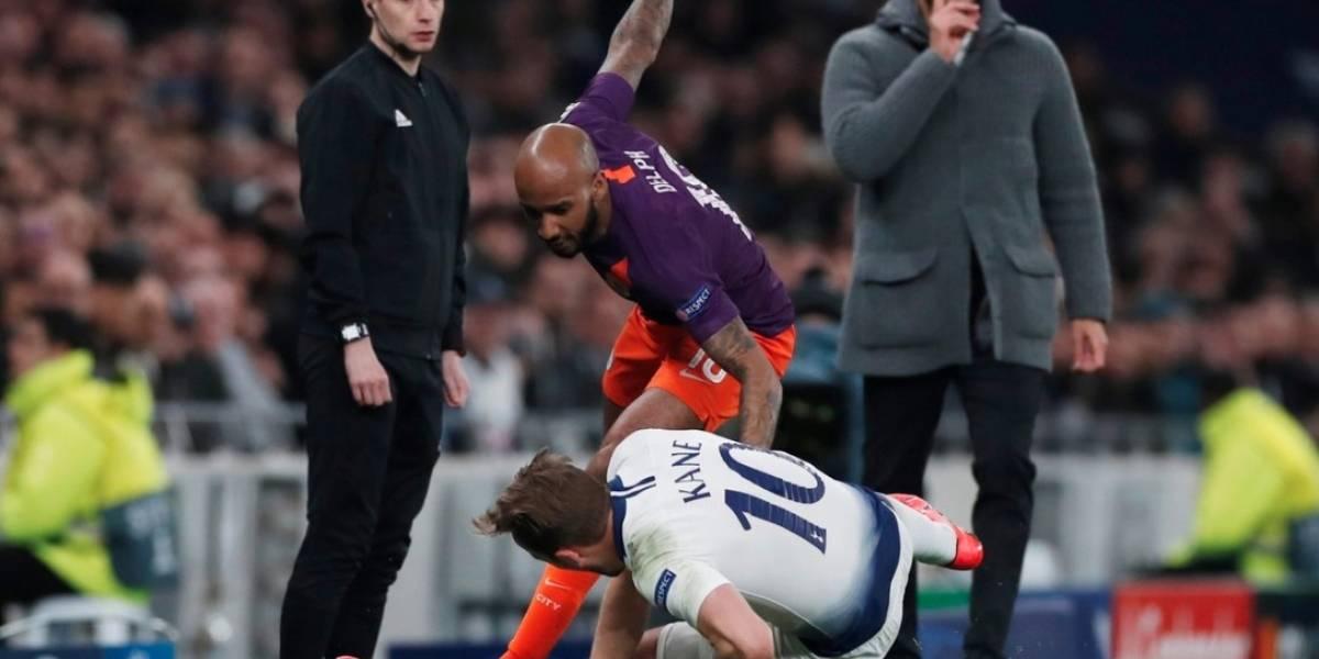 VIDEO: La terrible lesión de Harry Kane que lo sacó del partido ante el City