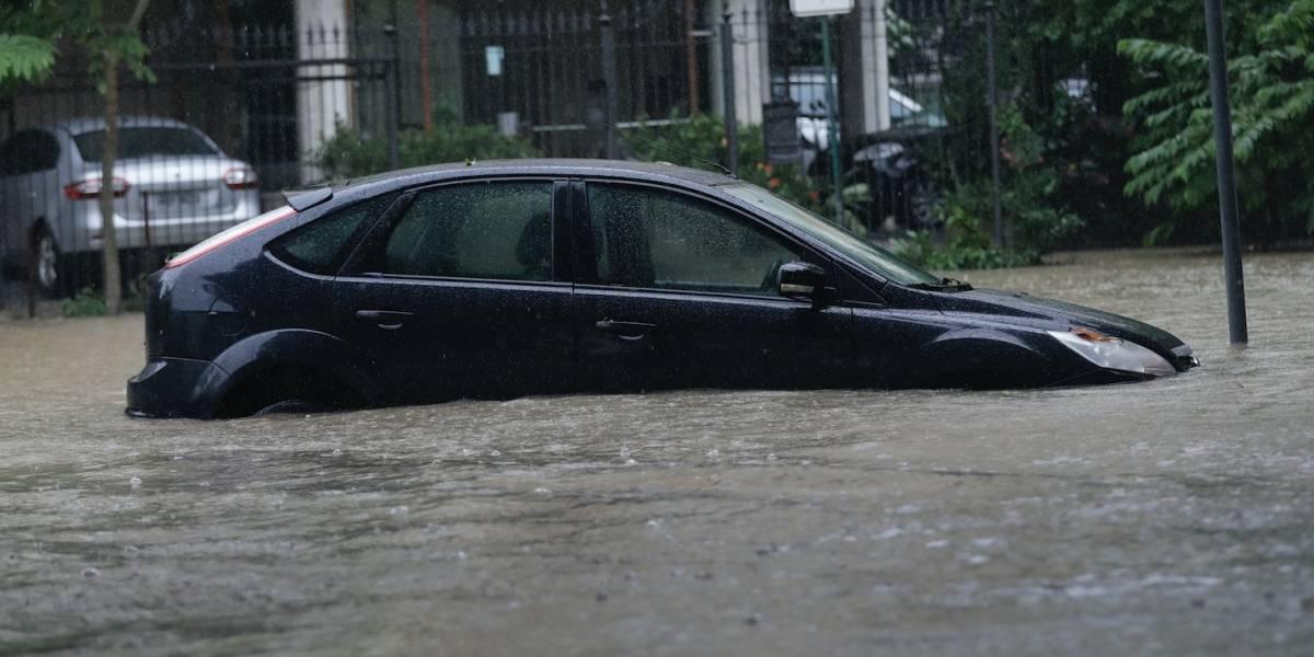 Lluvias intensas provocan inundaciones en Río de Janeiro
