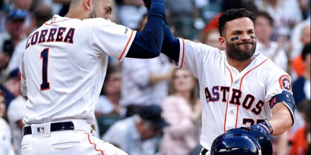 Carlos Correa y José Altuve cargan a los Astros en victoria sobre los Yankees