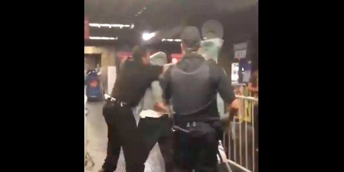 VÍDEO: Jovem é agredido por seguranças do Metrô Bresser-Mooca