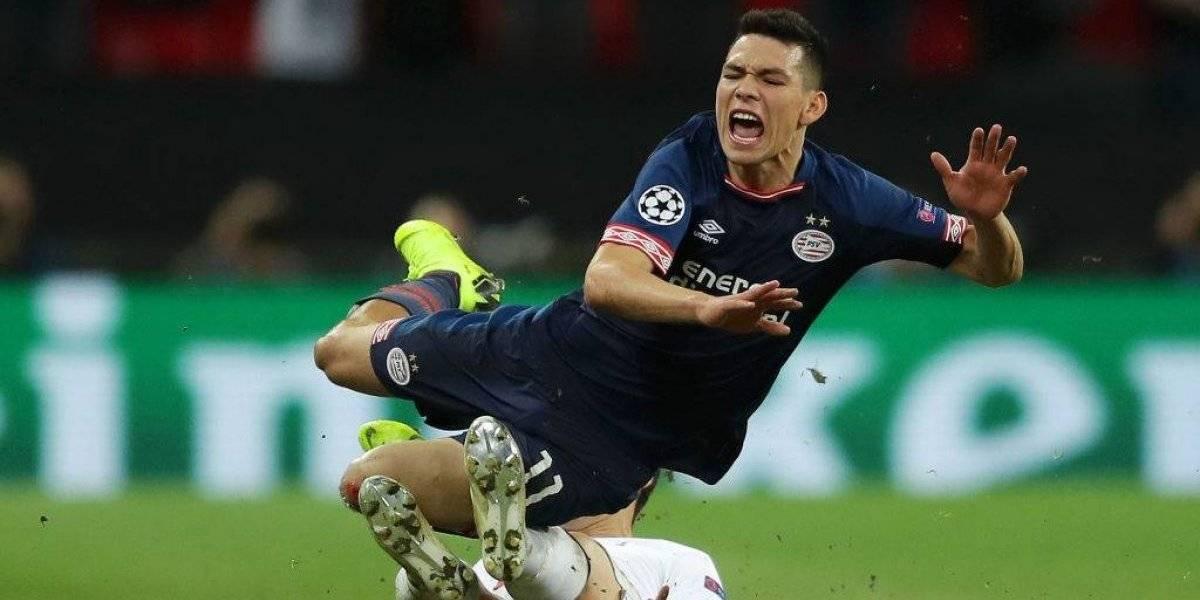 "Técnico rival acusa a Hirving Lozano de ""clavadista"""