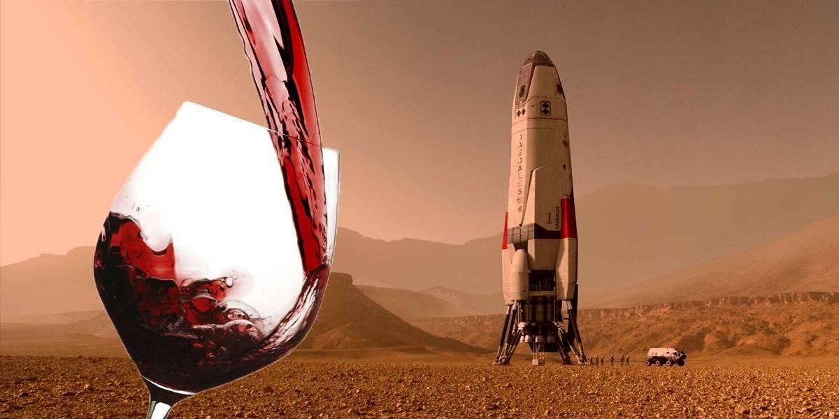 Europeos quieren hacer vino en Marte