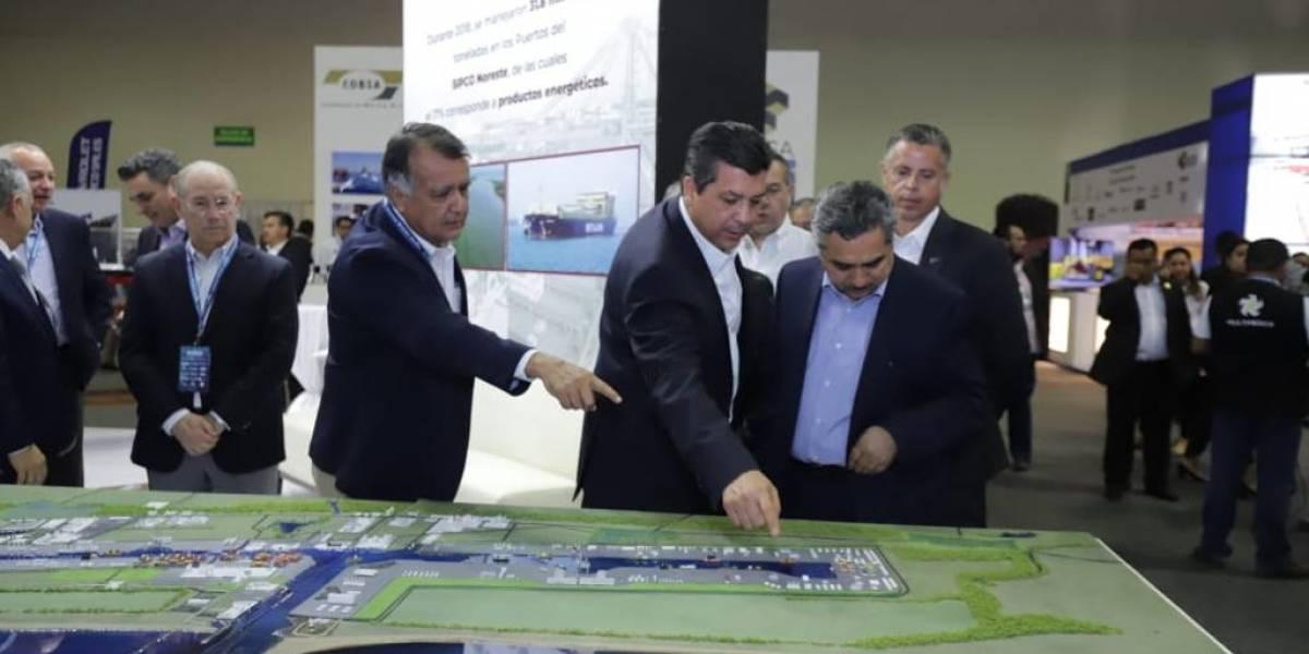 García Cabeza de Vaca inaugura expo EnerTam 2019 en Tamaulipas