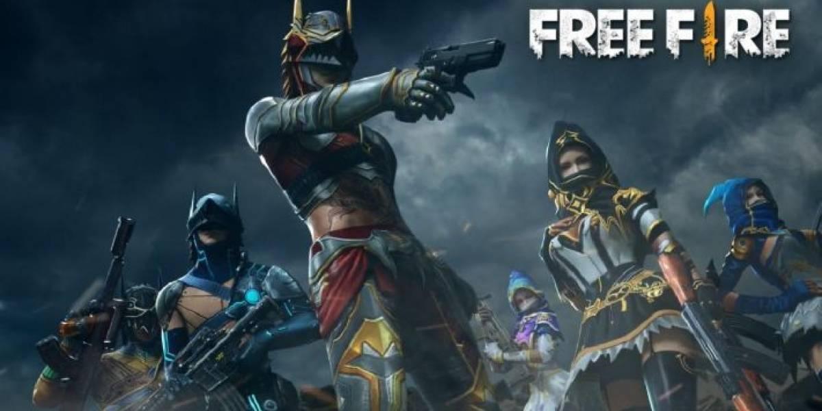 O aplicativo do game Free Fire trava ou fecha inesperadamente