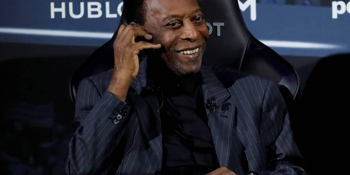 Hospital libera Pelé para cirurgia