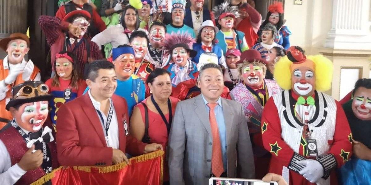 Payasos piden que se oficialice su Día Nacional