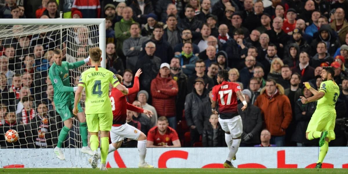 ¡Apareció el VAR y Luis Suárez! El uruguayo anotó el primero del Barcelona ante el United