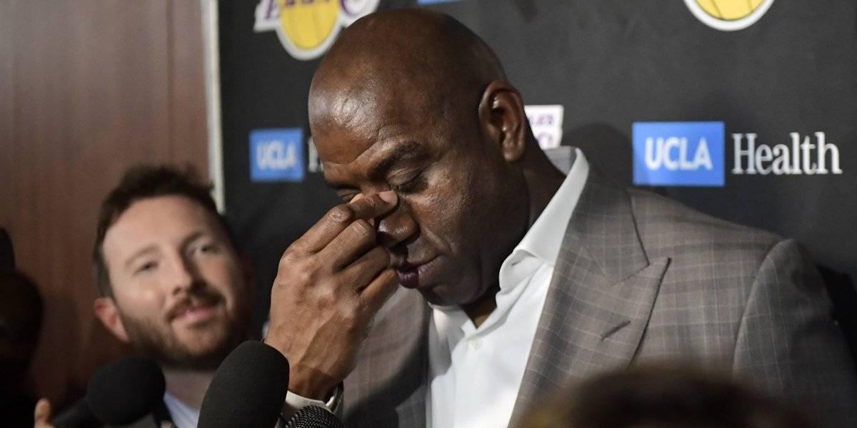 NBA: El legendario Magic Johnson renuncia a la presidencia de Los Ángeles Lakers