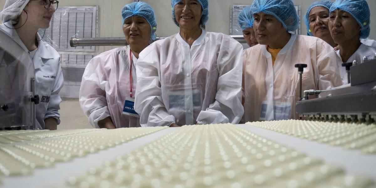 Productoras peruanas visitaron planta de República del Cacao