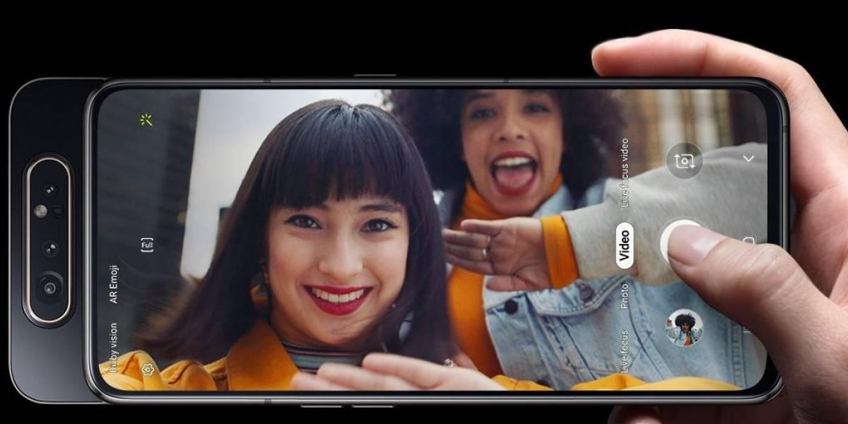 Tecnologia: Samsung revela novo Galaxy A80 com câmera 'rotatória'