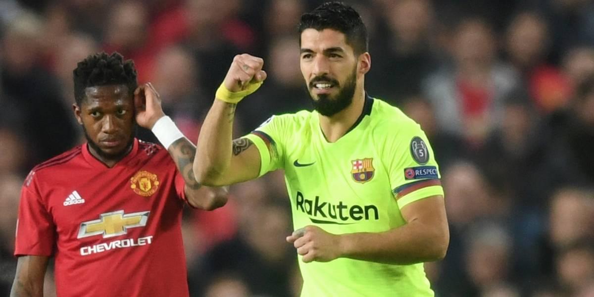 Barcelona le hizo vivir una pesadilla al Manchester United en el 'Teatro de los sueños'