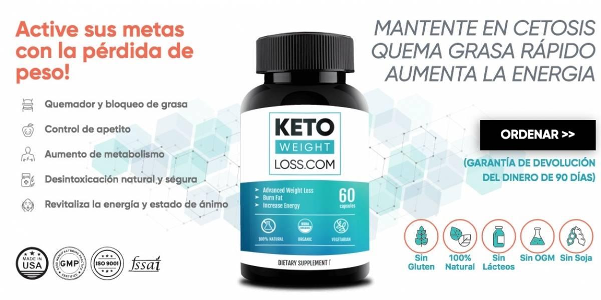 Invima advierte que el quema grasa Keto Weight Loss es fraudulento e ilegal