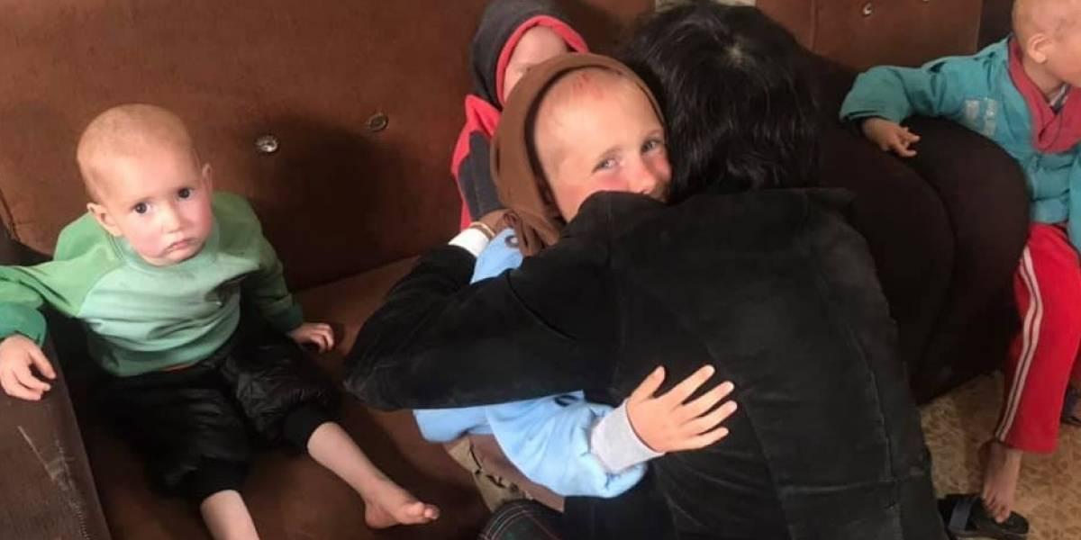Siete niños huérfanos en el limbo: Gobierno coordina con Suecia atención a los hermanitos Skramo