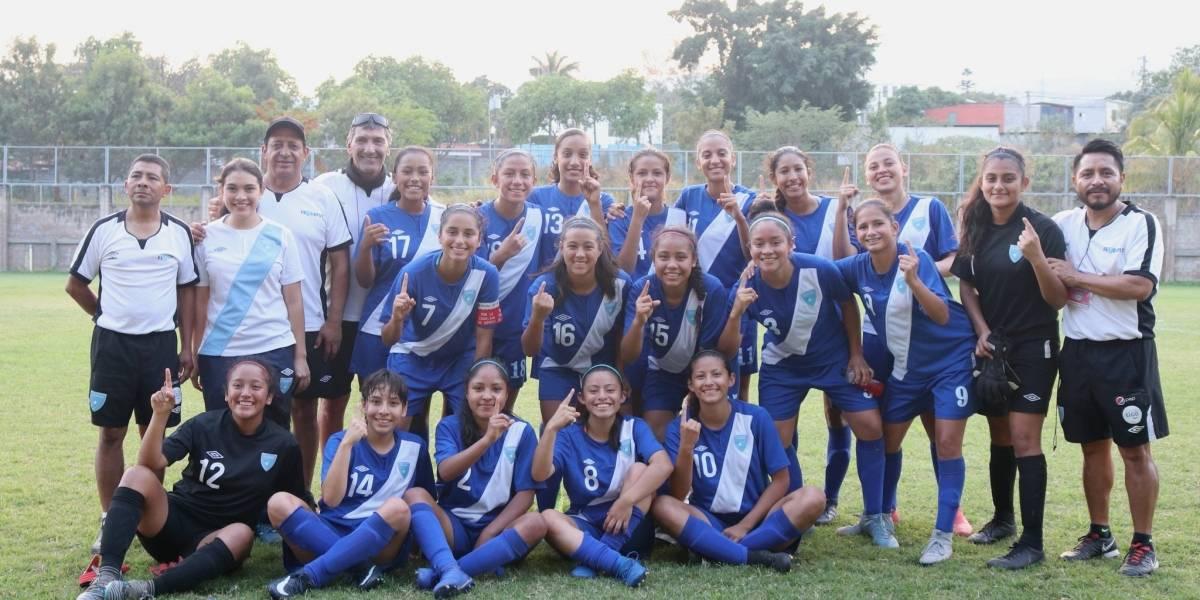Selección Femenina Sub-17 selló su pase a las semifinales del Torneo Uncaf