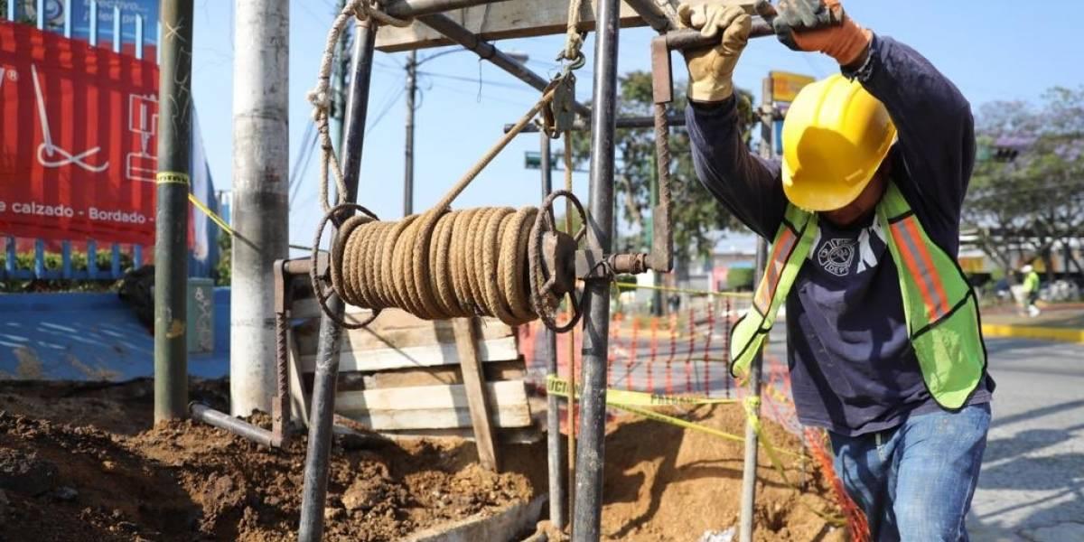 ¡Atención! Inician construcción del paso a desnivel en la avenida Petapa