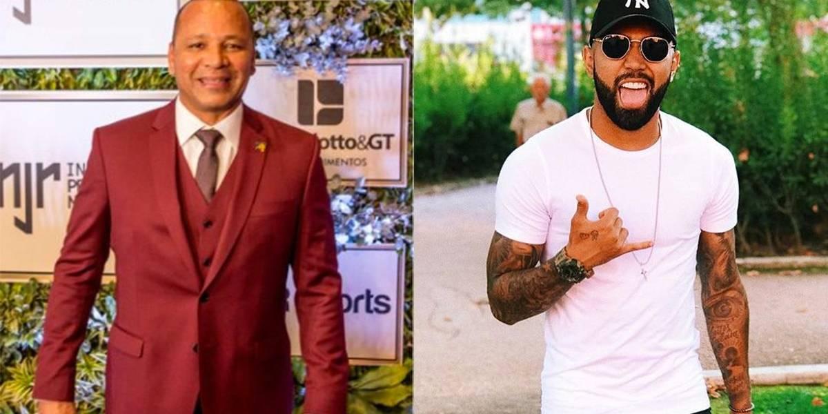 Pai de Neymar e Gabigol quase saem na mão em festa, diz jornal