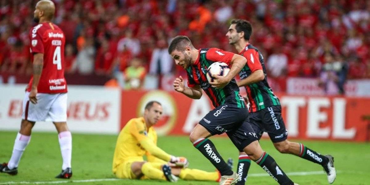 """""""El poder psicológico"""" y la """"fuerte tensión"""" que provocó Palestino ante Inter llamó la atención en Brasil"""