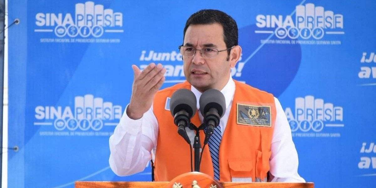 Presidente señala que se investigan al menos diez estructuras vinculadas al tráfico de personas