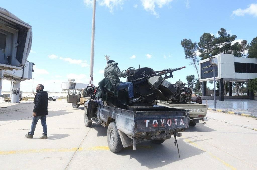 Conflicto en Libia