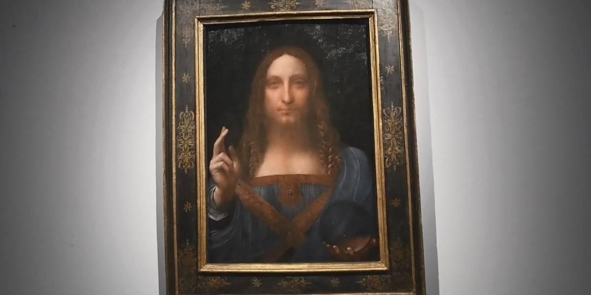 Suposta obra de Da Vinci estaria em iate de príncipe saudita