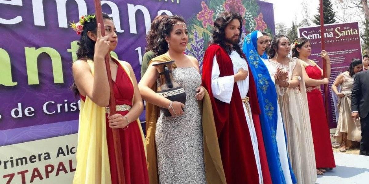Casi 9 mil policías cuidarán la Pasión de Cristo en Iztapalapa