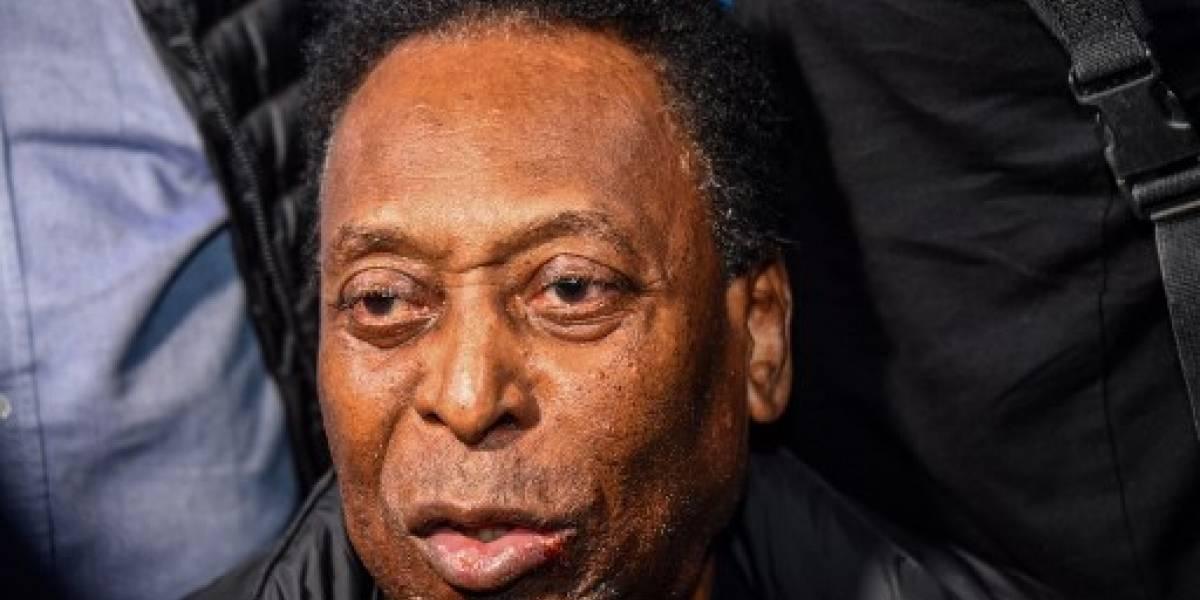 Pelé vuelve a ser internado por infección urinaria