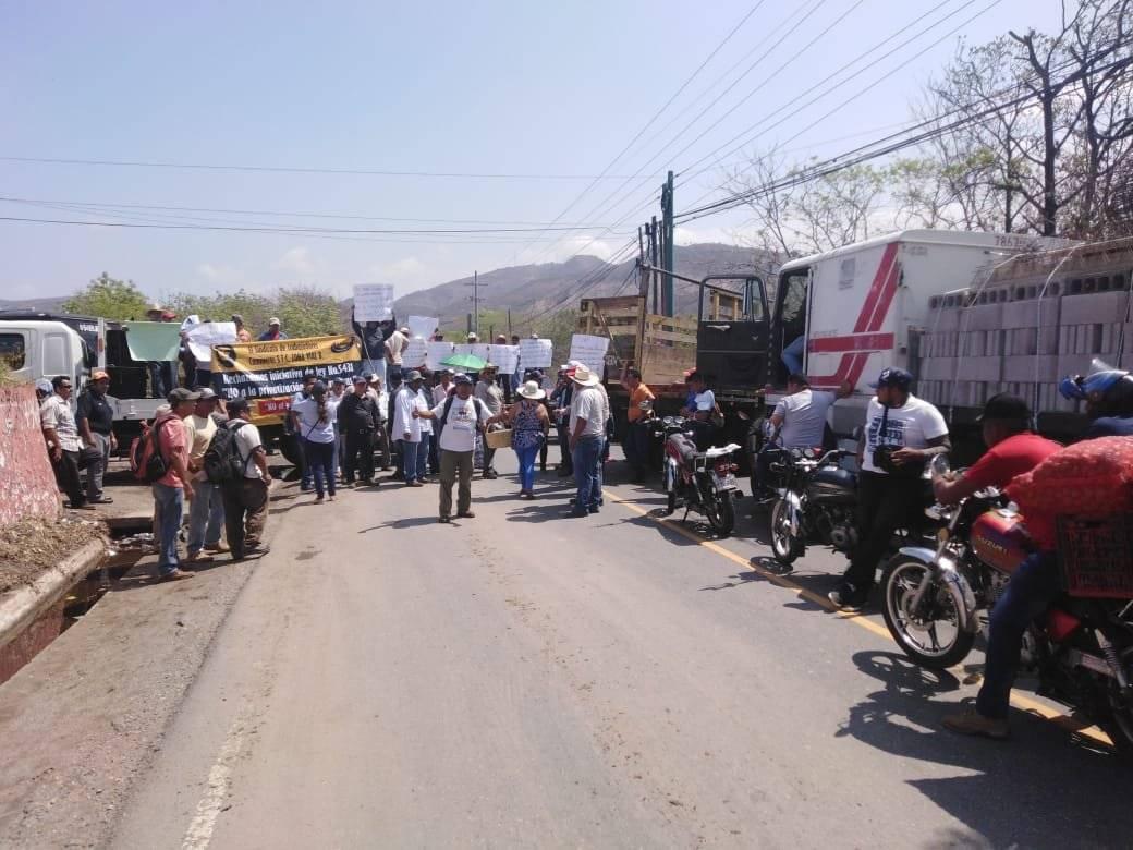 Bloqueo en Chiquimula