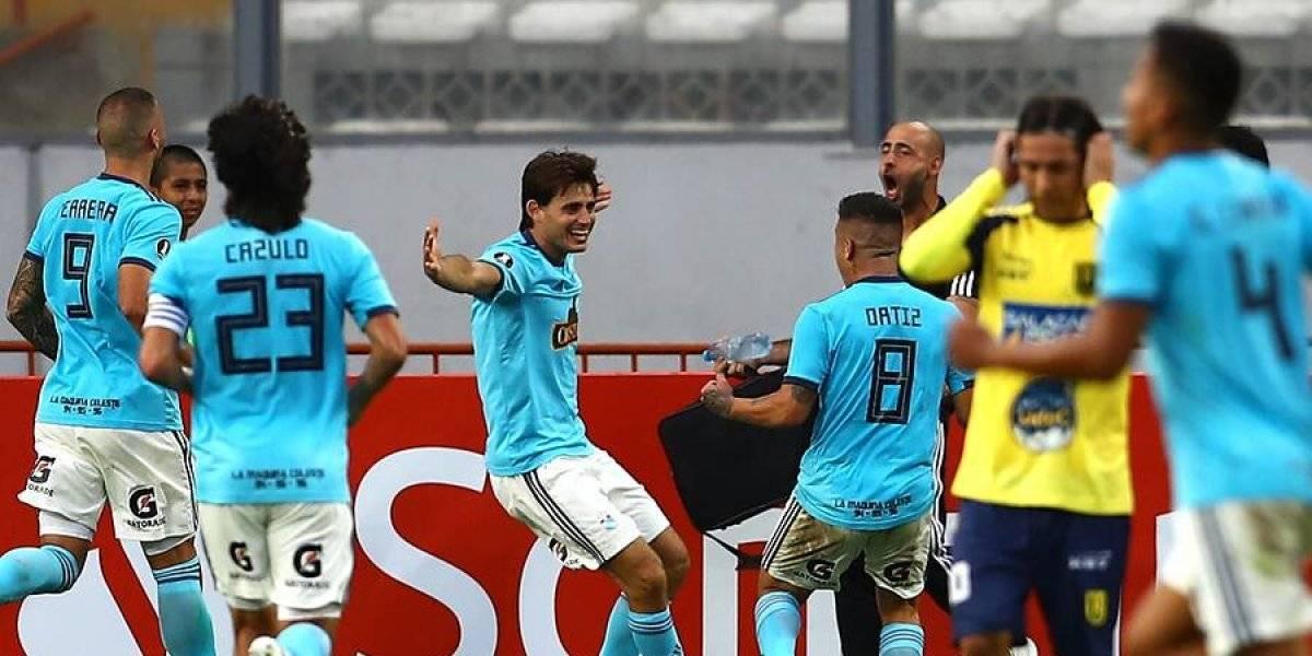 La U. de Concepción se quebró 15 minutos ante el Sporting Cristal y se trae una dolorosa derrota desde Perú
