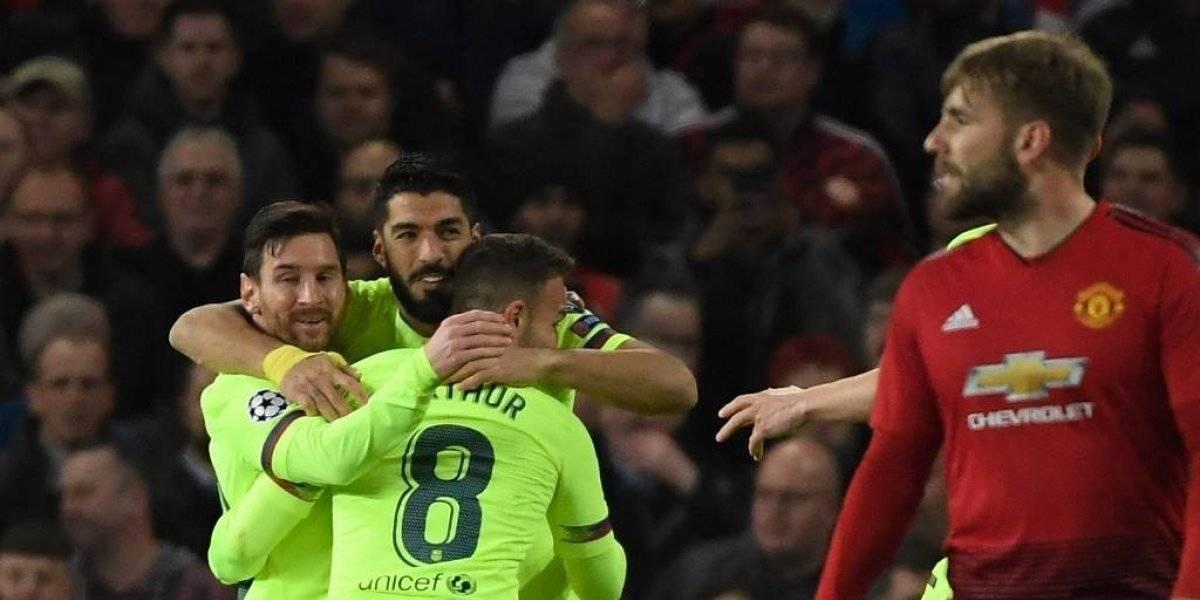 Un autogol acerca al Barça a las semifinales de la Champions
