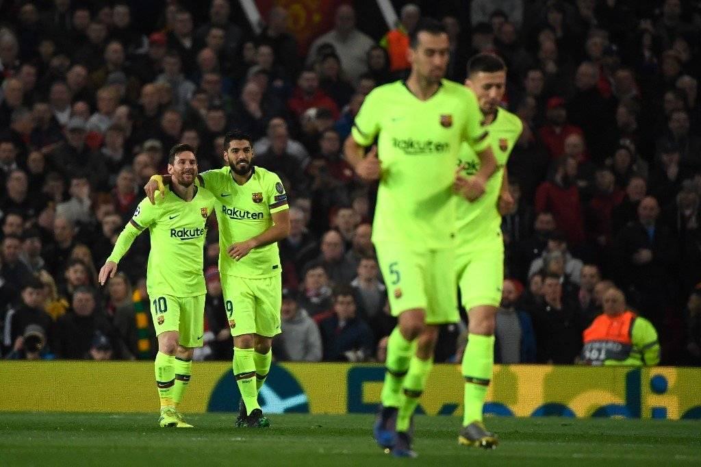 Gol del Barcelona contra el Manchester United