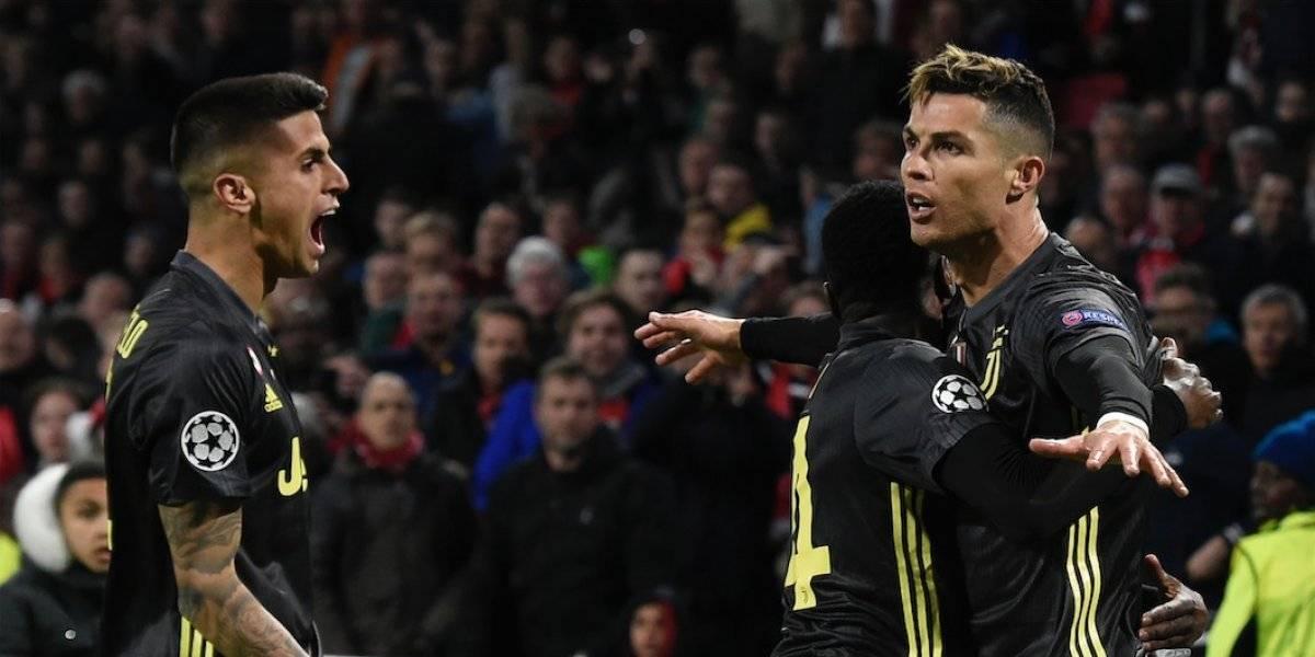 La Juventus resolverá el pase a los cuartos ante el Ajax, en Turín